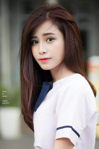 "Nu sinh truong Nghe thuat Quan doi ""gay me"" dan mang-Hinh-3"