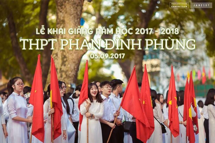 """Dan mang """"phat cuong"""" vi nam sinh truong THPT Phan Dinh Phung-Hinh-5"""