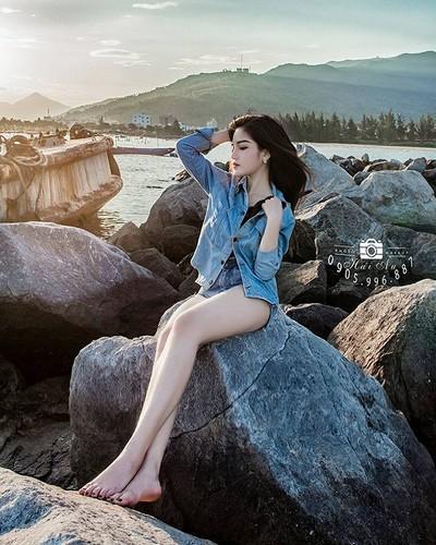 """Hot girl Quang Nam """"trang xinh khong ty vet"""" gay sot mang-Hinh-5"""