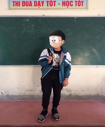 """Dan mang thich thu voi trao luu khoe giay """"Nobita tim Xuka""""-Hinh-3"""