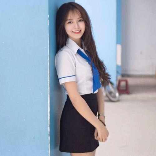 Gai xinh khoa IT truong DH Cong nghe Thuc pham khoe sac