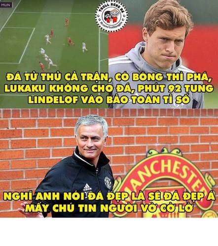 """Anh che bong da: Mourinho """"noi mot dang, lam mot neo""""-Hinh-2"""