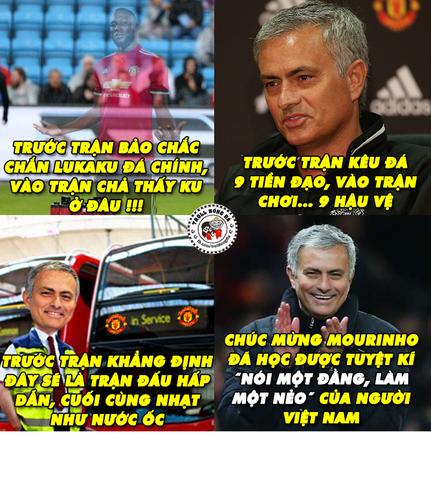 """Anh che bong da: Mourinho """"noi mot dang, lam mot neo""""-Hinh-3"""
