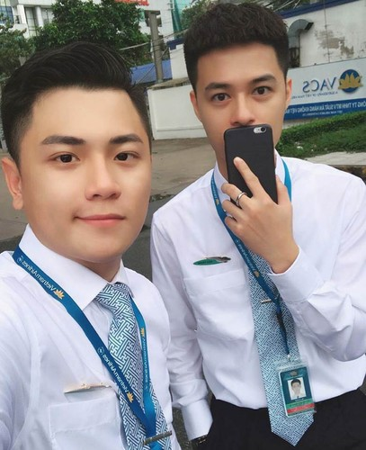 Hot boy Vietnam Airlines don tim dan mang Viet la ai?-Hinh-10