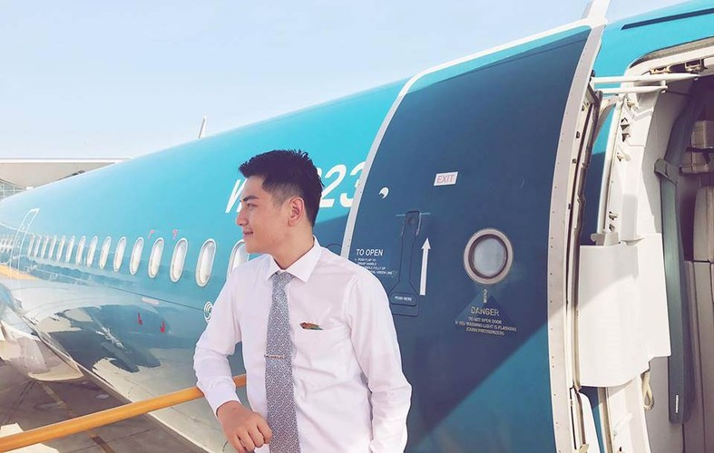 Hot boy Vietnam Airlines don tim dan mang Viet la ai?-Hinh-8