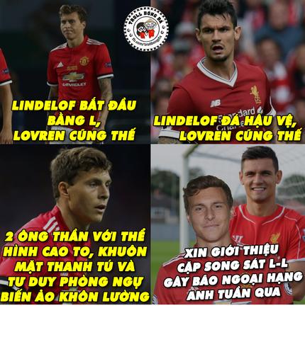 """Anh che bong da: Cap doi Lindelof - Lovren thi nhau """"bop"""" dong doi-Hinh-4"""