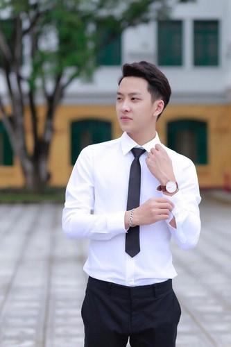 Hot boy truong Nong nghiep dep trai gay thuong nho