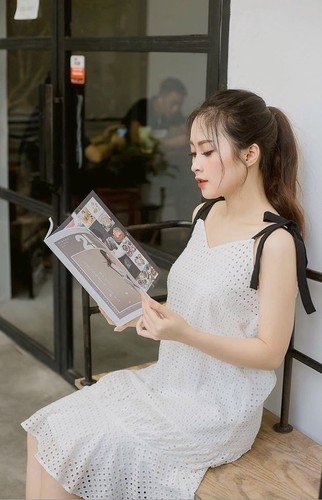 """Nu sinh Su pham Ky thuat xung danh """"bong hong giua sa mac""""-Hinh-4"""