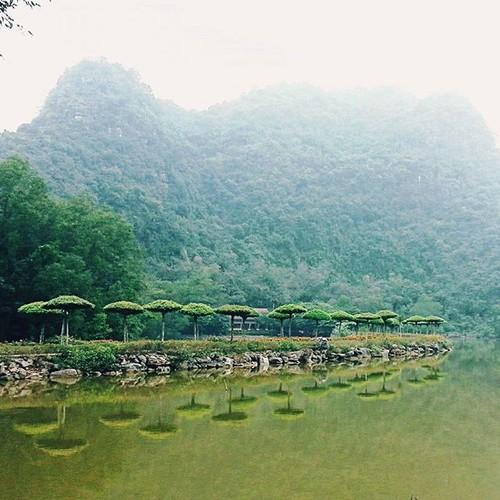 """""""Lac troi"""" truoc canh dep Thung Nham dip cuoi tuan-Hinh-8"""