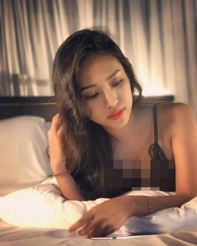 "Anh khoe vong 1 ""ngon ngon"" nhuc mat cua hot girl Thuy Vi-Hinh-8"