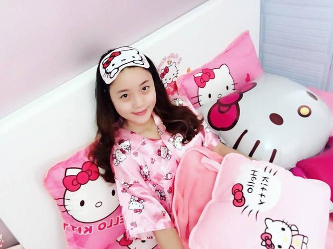 Co gai Hai Phong va bo suu tam meo Kitty cuc khung-Hinh-2