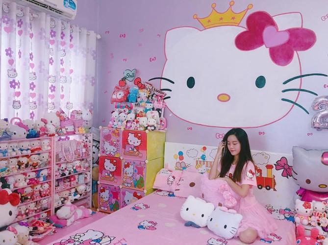 Co gai Hai Phong va bo suu tam meo Kitty cuc khung-Hinh-4