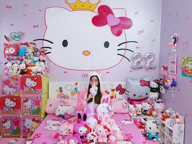Co gai Hai Phong va bo suu tam meo Kitty cuc khung-Hinh-5
