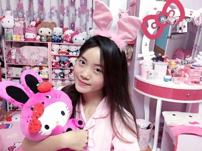 Co gai Hai Phong va bo suu tam meo Kitty cuc khung