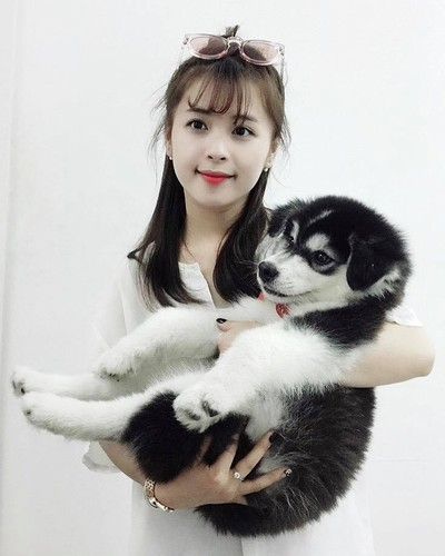 """Hot girl ao hong"" o My Dinh duoc khen xinh hon hoa hau-Hinh-10"