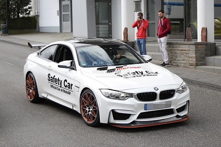 Mau BMW M4 GTS bat ngo xuat hien tren duong thu-Hinh-4