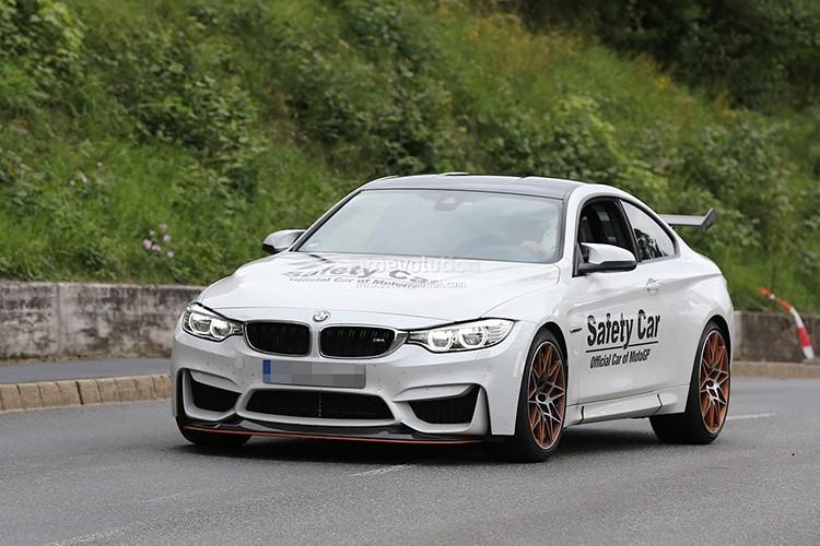 Mau BMW M4 GTS bat ngo xuat hien tren duong thu-Hinh-9
