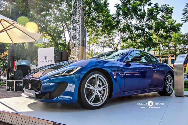 Maserati GranTurismo MC Stradale gia 9,2 ty tai Viet Nam
