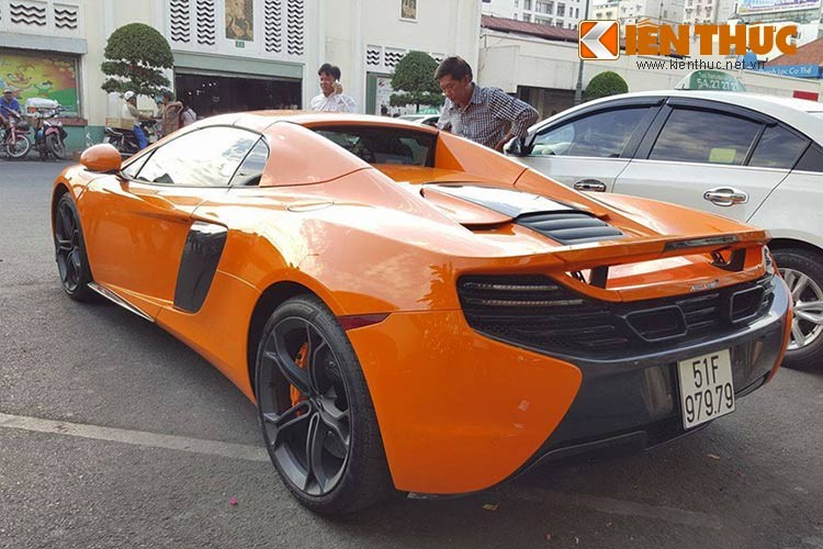 Sieu xe tien ty McLaren 650S bien than tai