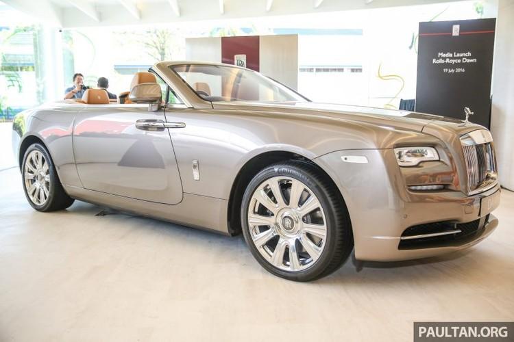 Can canh sieu xe sang mui tran Rolls-Royce Dawn gia 22 ty-Hinh-2