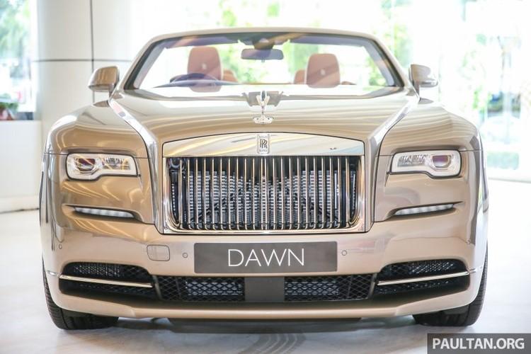 Can canh sieu xe sang mui tran Rolls-Royce Dawn gia 22 ty