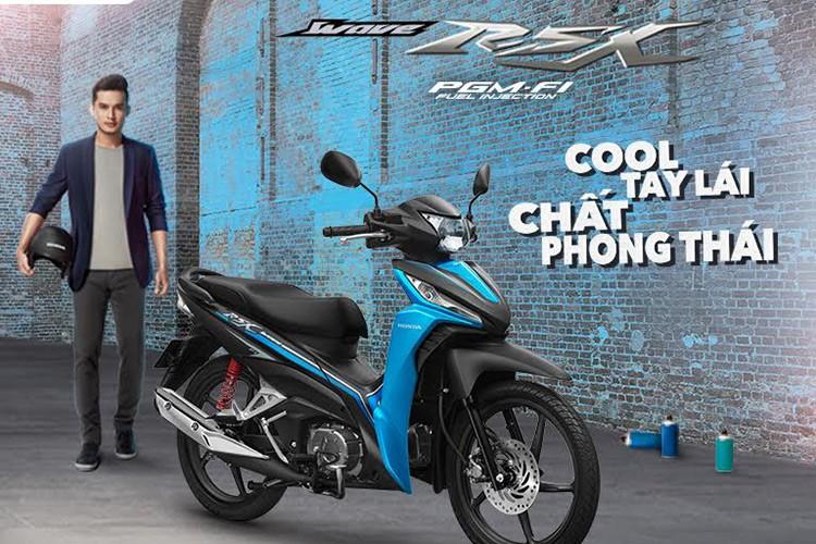 Honda Viet Nam ra mat Wave 110 RSX moi gia 21,5 trieu