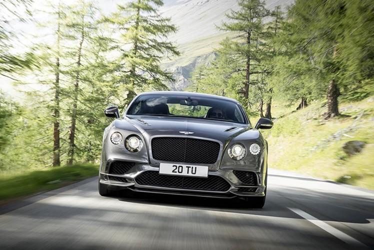 Continental Supersports 2018 sieu xe nhanh nhat cua Bentley