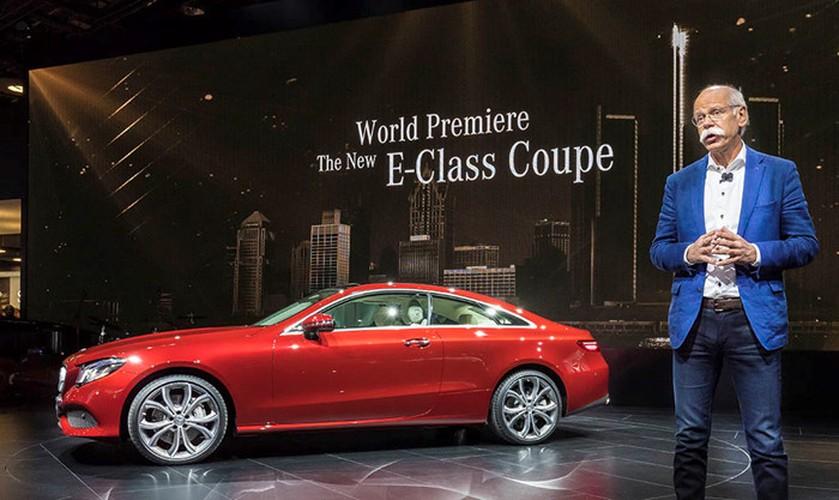 Mercedes-Benz E-Class Coupe 2018 ra mat toan cau-Hinh-2
