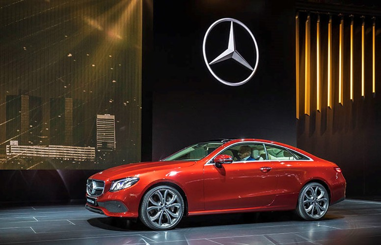 Mercedes-Benz E-Class Coupe 2018 ra mat toan cau-Hinh-3