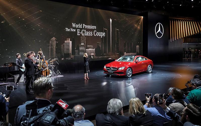 Mercedes-Benz E-Class Coupe 2018 ra mat toan cau
