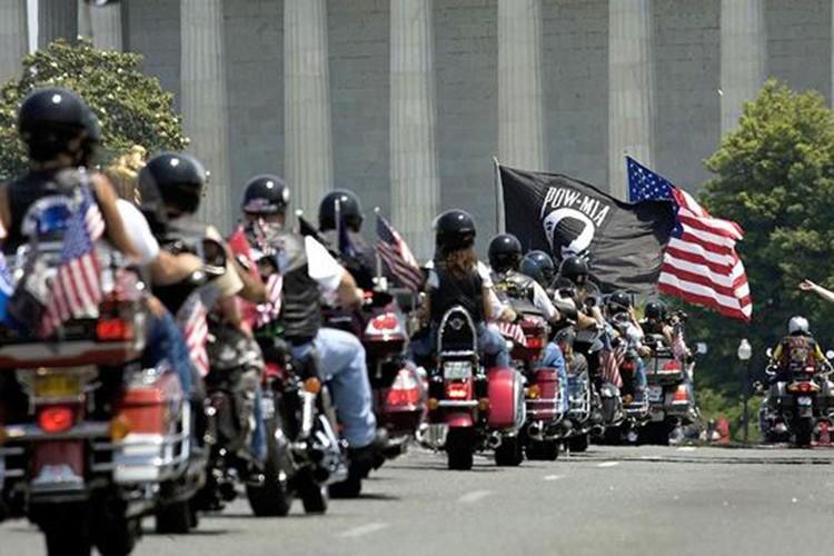 Hang nghin dan choi moto Harley-Davidson ung ho Trump-Hinh-3