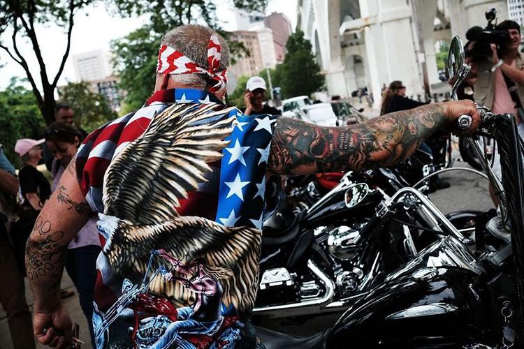 Hang nghin dan choi moto Harley-Davidson ung ho Trump-Hinh-5