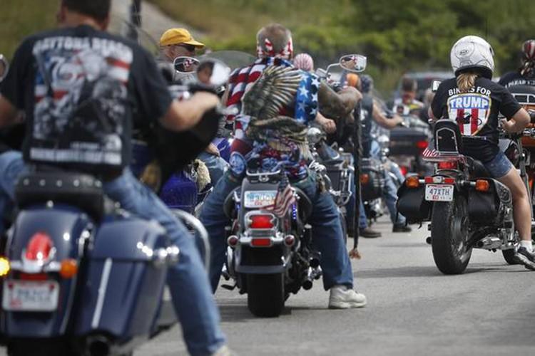 Hang nghin dan choi moto Harley-Davidson ung ho Trump-Hinh-6