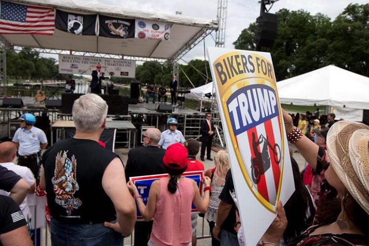 Hang nghin dan choi moto Harley-Davidson ung ho Trump-Hinh-7