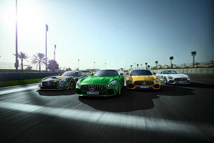 Mercedes-Benz tieu thu hon 2 trieu xe trong nam 2016