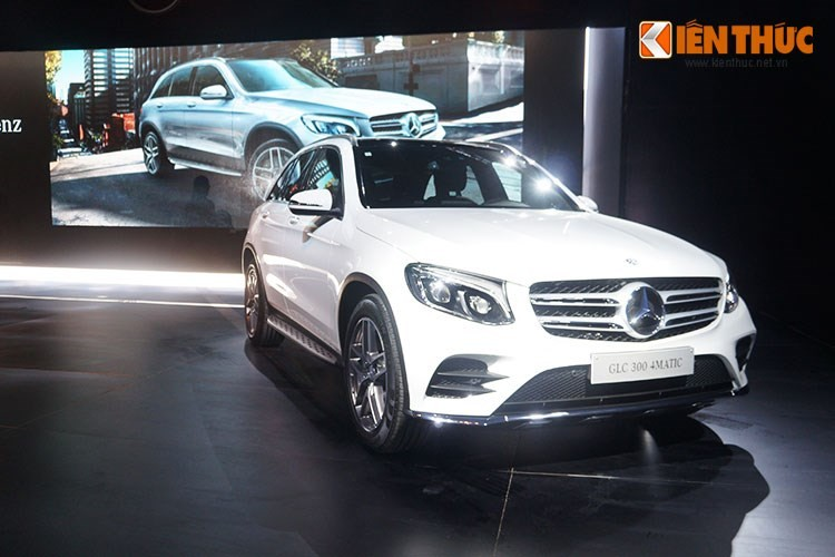Mercedes-Benz GLC - xe sang ban chay nhat Viet Nam 2016-Hinh-4