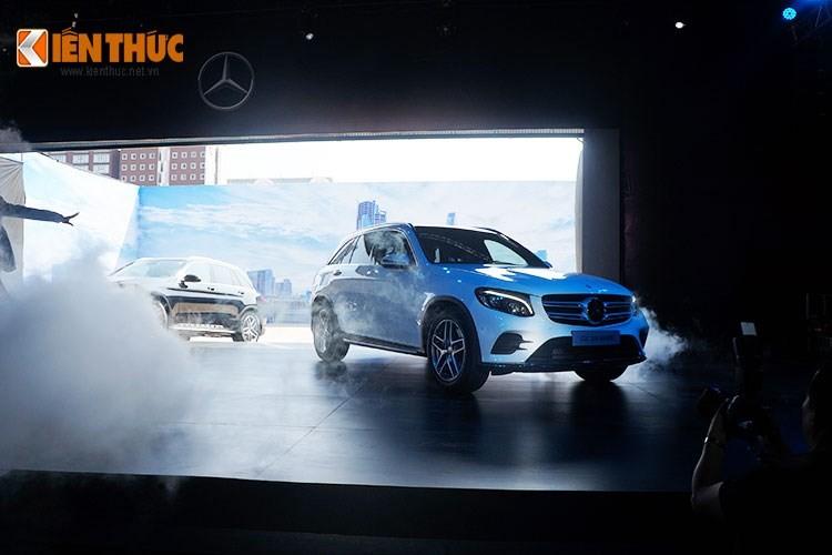 Mercedes-Benz GLC - xe sang ban chay nhat Viet Nam 2016