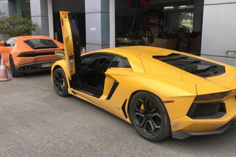 Bo doi Lamborghini 39 ty tu Ha Noi ve Sai Gon don Tet