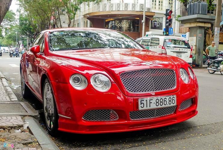 Sieu xe Bentley Continental GT do bien dep o Sai Gon-Hinh-2