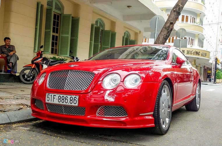 Sieu xe Bentley Continental GT do bien dep o Sai Gon-Hinh-3