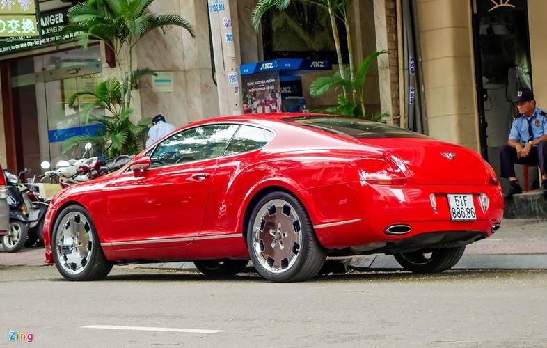 Sieu xe Bentley Continental GT do bien dep o Sai Gon-Hinh-5