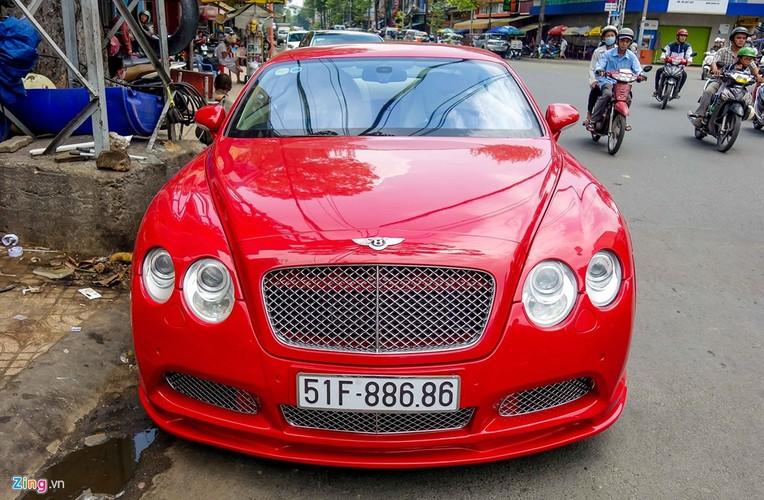 Sieu xe Bentley Continental GT do bien dep o Sai Gon