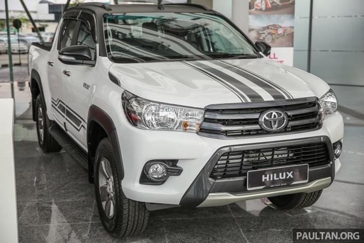Toyota Hilux ban dac biet gia 644 trieu tai Malaysia