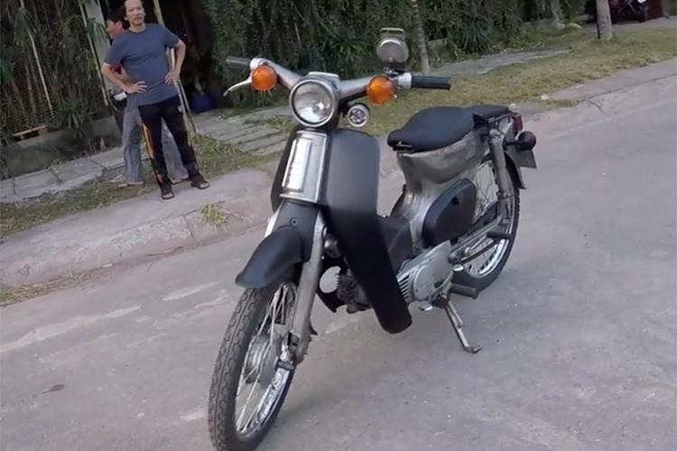 """Johnny Tri Nguyen chi 420k do Honda Cub 79 """"dong nat""""-Hinh-2"""