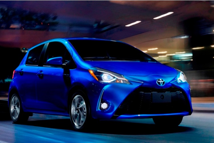 Toyota Yaris 2018 tre trung, nang dong va the thao hon