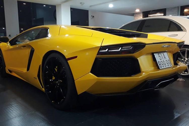 """Lamborghini gia 25 ty do """"po khung"""" tai nha Cuong Do la"""