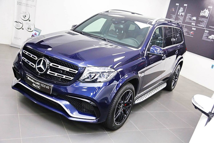 Can canh Mercedes-AMG GLS 63 gia 12 ty tai Viet Nam