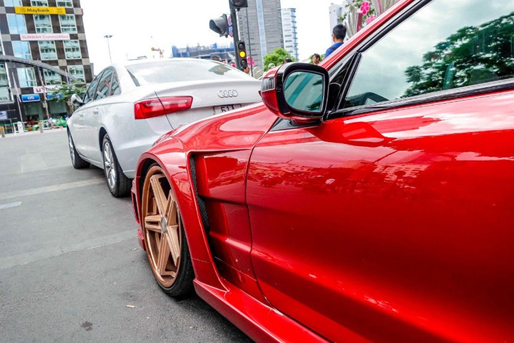 "Xe the thao tien ty Mercedes SL55 ""do ruc"" tai Sai Gon-Hinh-8"