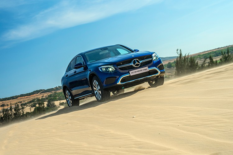 """Mercedes GLC 300 4MATIC Coupe """"chot gia"""" 2,9 ty tai VN"""