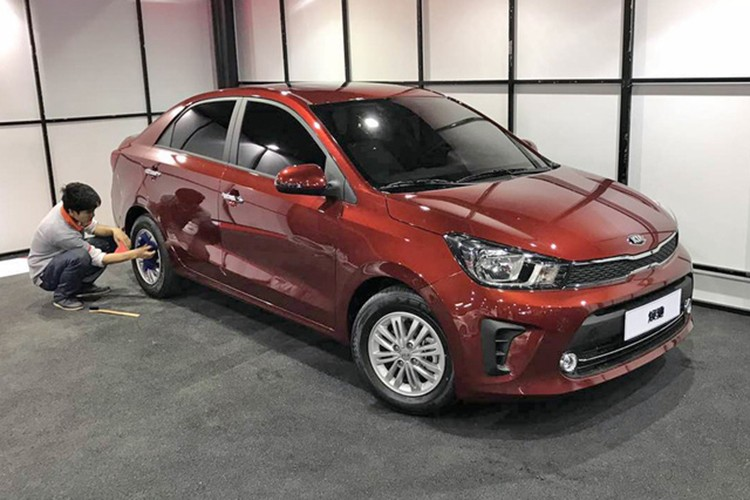 Kia Pegas 2017 - xe sedan gia re chi tu 2613 trieu dong-Hinh-9